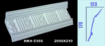 Architectural Gypsum Moulding