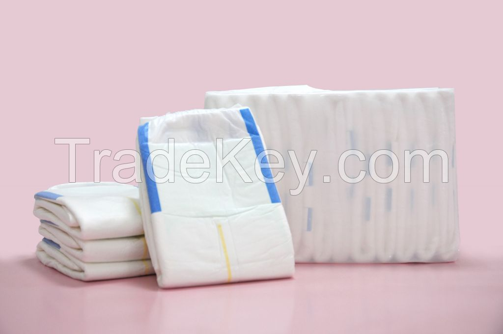 Ultra thick wholesale cheap adult diaper