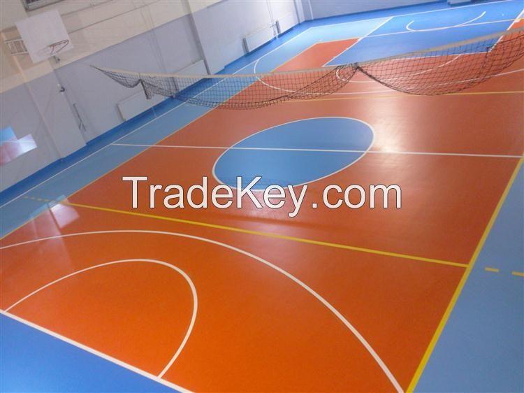 L'UNICFLEX Indoor Polyurethane Sports Flooring