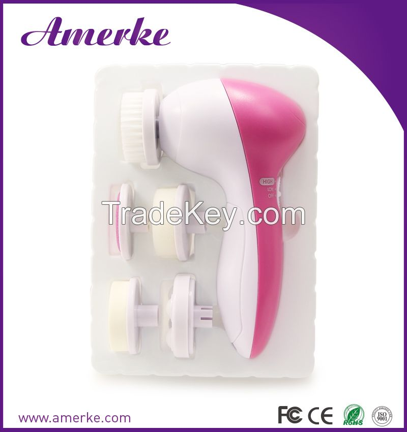 Waterproof Electric Beauty Wash Face Cleaner Facial Skincare Cleaning