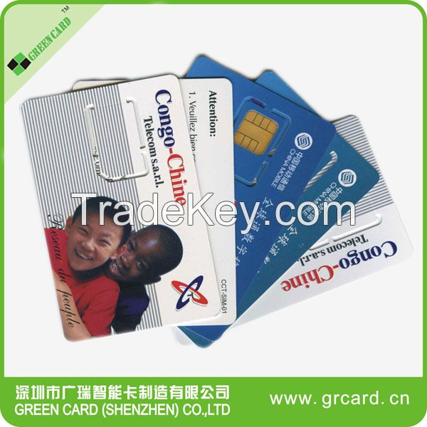 3G WCDMA USIM Card offer card programmer and free software