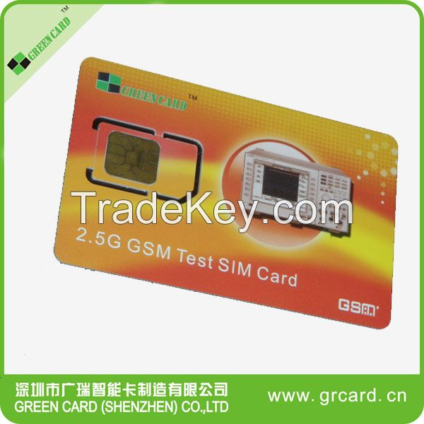 128k Java blank gsm sim card with STK menu OTA