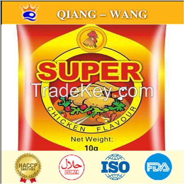 10g*600 bags chicken bouillon chicken seasoning powder