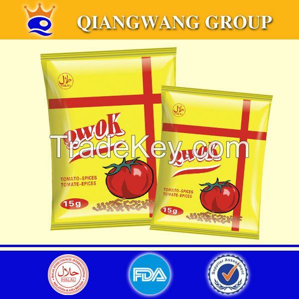 Halal tomato flavor seasoning powder