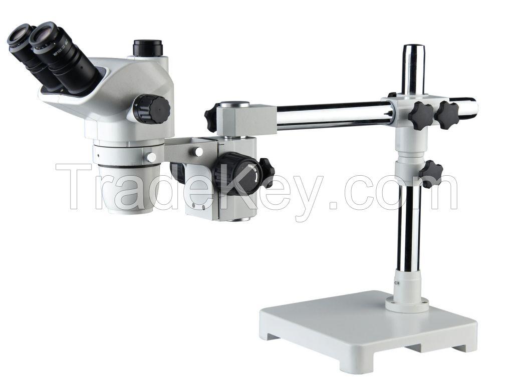 6.7x~45x biological industry binocular trinocular stereo microscope