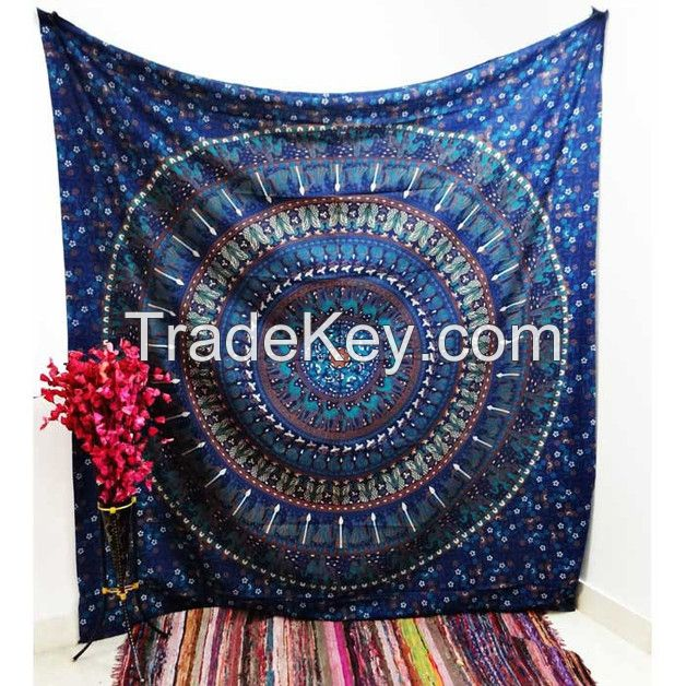 Indian Cotton Circled Round Hippie With Cloves.