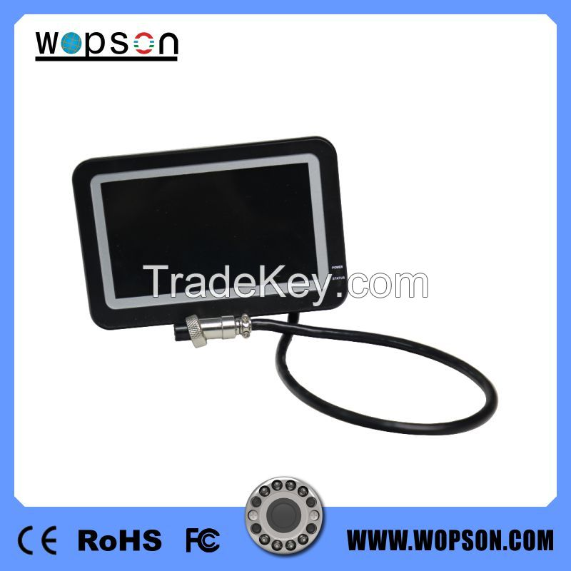 Carbon Fibre 3 Meter Telescopic Pole Pipe and Wall Inspection Camera