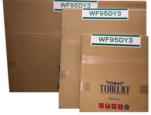 High appearance letterpress plate A3