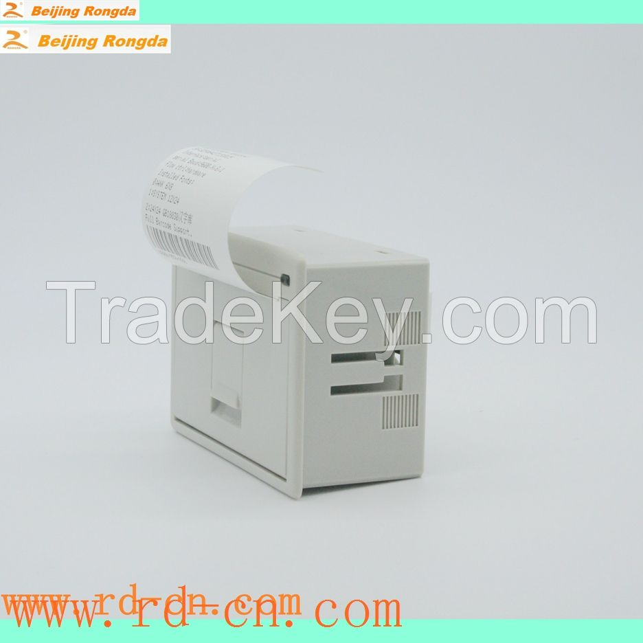 RD-EH panel embedded thermal micro printers with USB,485,RS232,TTL,Serial port,Parallel port interface