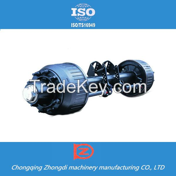 China supplier heavy duty strong semi Trailer trailer axle 750kg