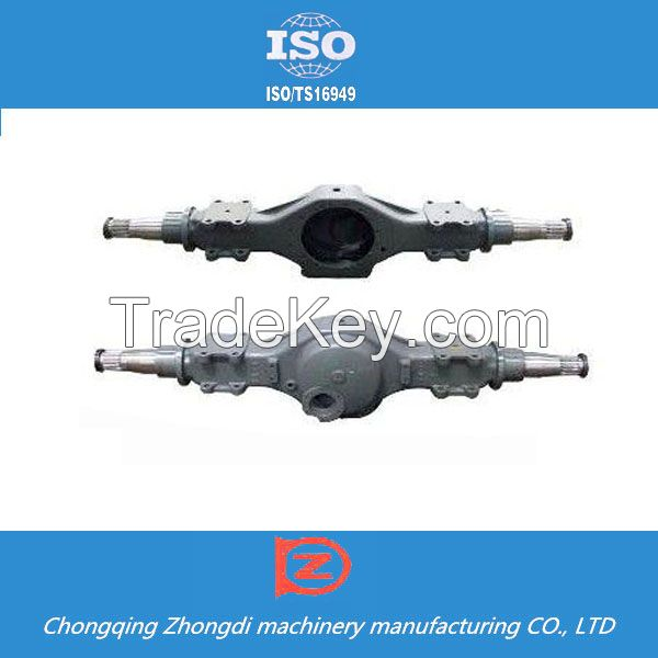 Truck spare parts heavy duty truck atv rear axle made in china