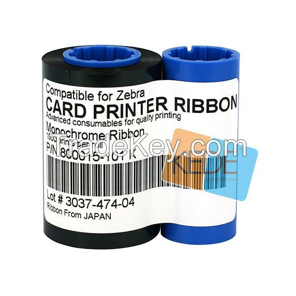 For Zebra p310i 800015-101 black compatible id card printer ribbon