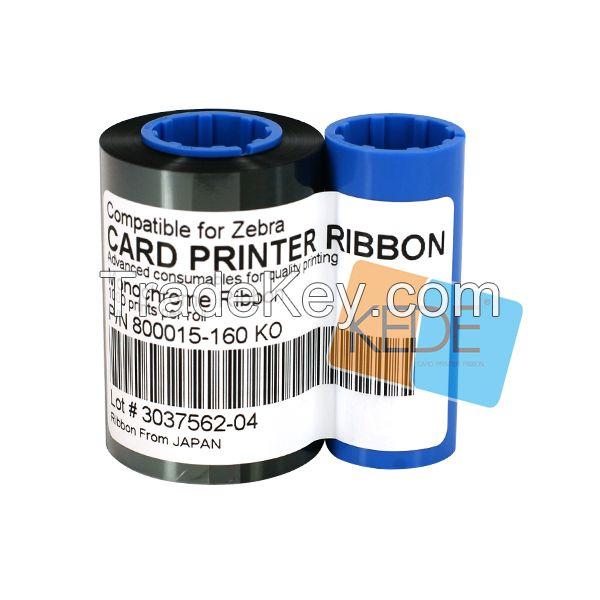 For Zebra P300 800015-160 KO compatible card printer ribbon