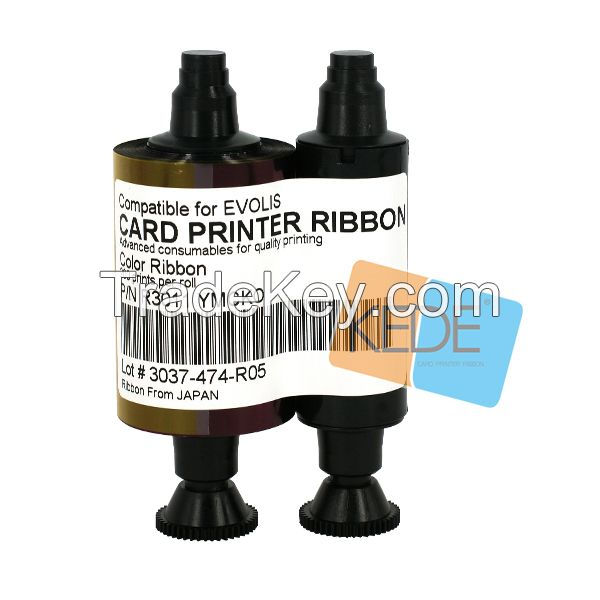 R3011 For Evolis Pebble dualys securion printer R3011 color compatible card printer ribbon