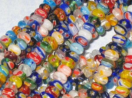 Glass bead, Seed bead, Crystal bead, Pearl bead, Flower bead
