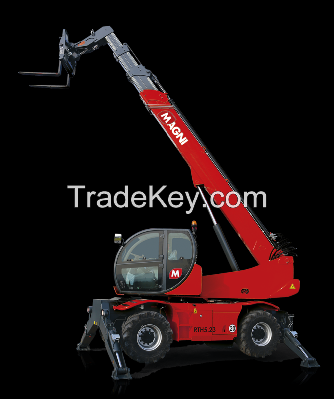 Rotating Telescopic Handler