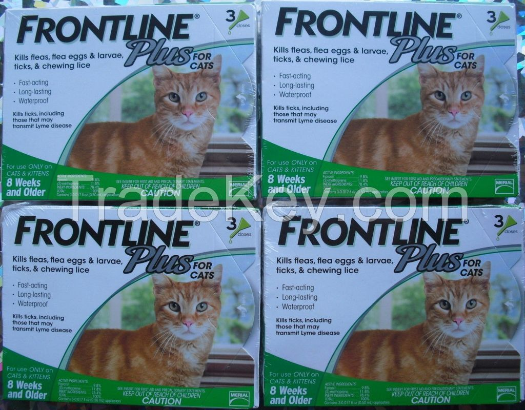 Frontline Plus for Pest and Ticks Control for Cats
