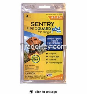 sentry-fiproguard Plus -ticks--fleas-treatment-generic-Small  Dogs