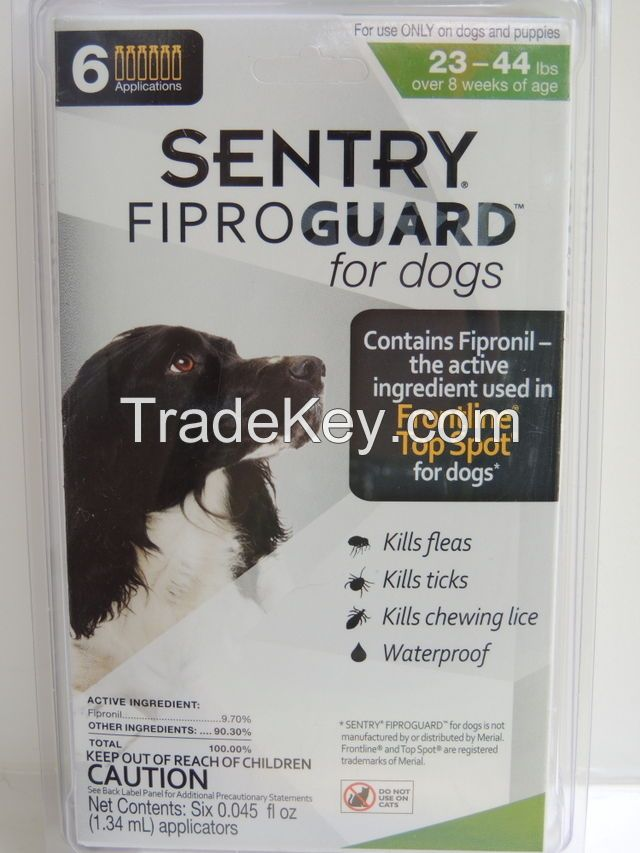 sentry-fiproguard-ticks--fleas-treatment-generic-frontline for Medium dogs
