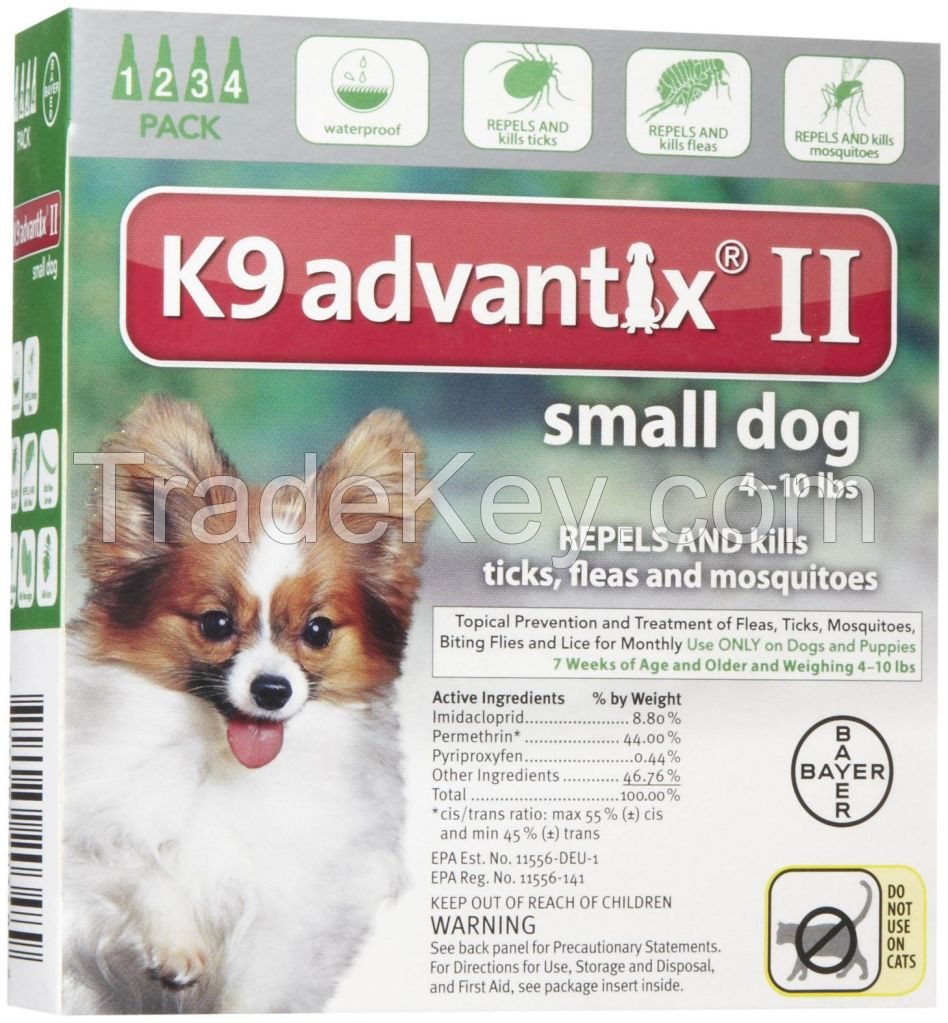 k9 Advantix for pets, ticks and fleas control for Small Dogs