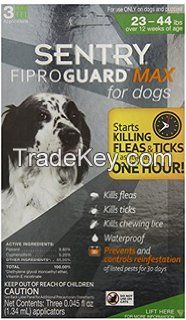 sentry-fiproguard Max-ticks--fleas-treatment-generic-frontline for Medium dogs