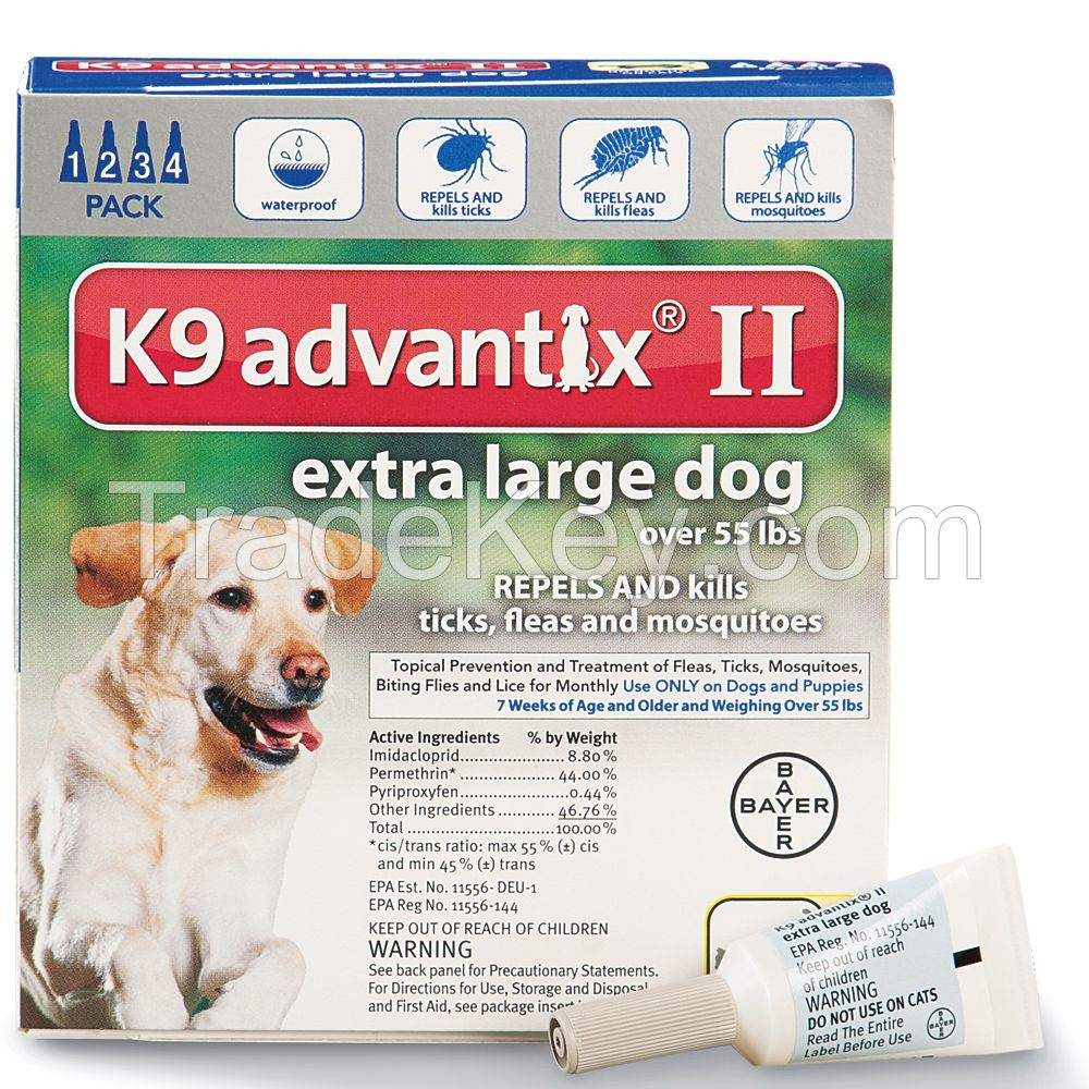 k9 Advantix for pets, ticks and fleas control for Extar-large Dogs