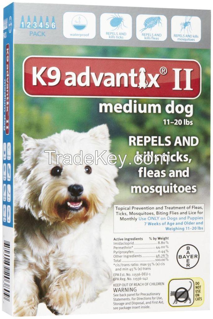 k9 Advantix for pets, ticks and fleas control for Medium Dogs