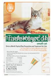 Advantage II for pets, ticks and fleas control for Small  Cat 9lbs