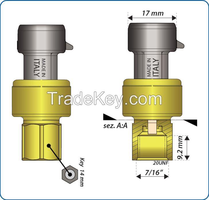 Ratiometric Pressure Sensors
