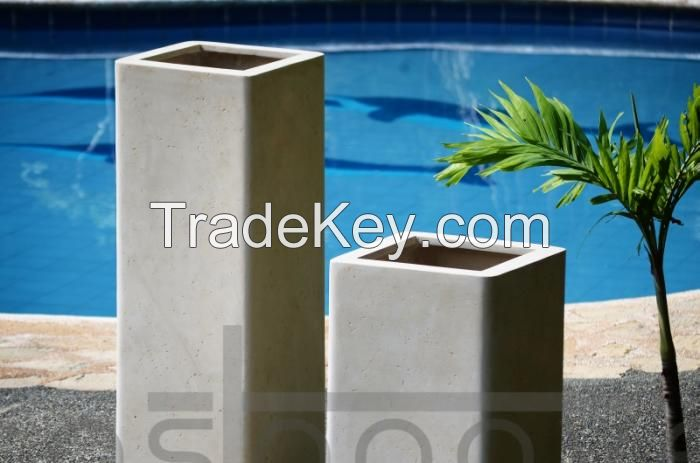 polystone planters