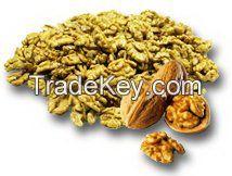 Light walnut kernels