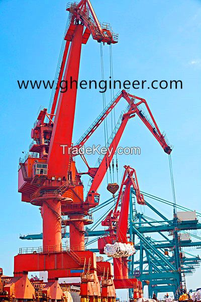 GHE ship unloader for jetty or port