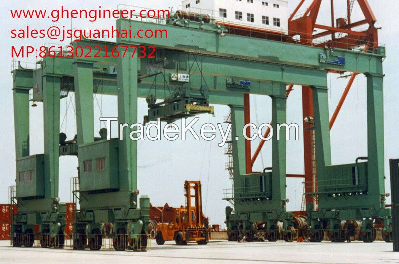 The most flesible RTG crane with competitive price