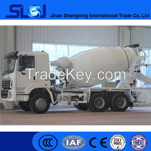 SINOTRUCK HOWO 6x4 336hp concrete mixer truck for sale