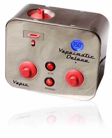 Vapir Vapormatic Deluxe Tabletop Vaporizer + Inflation Kit