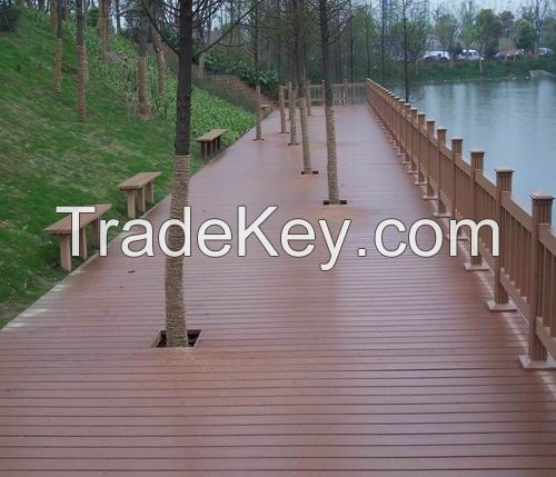 Wood Plastic Composite WPC Panel and WPC Flooring
