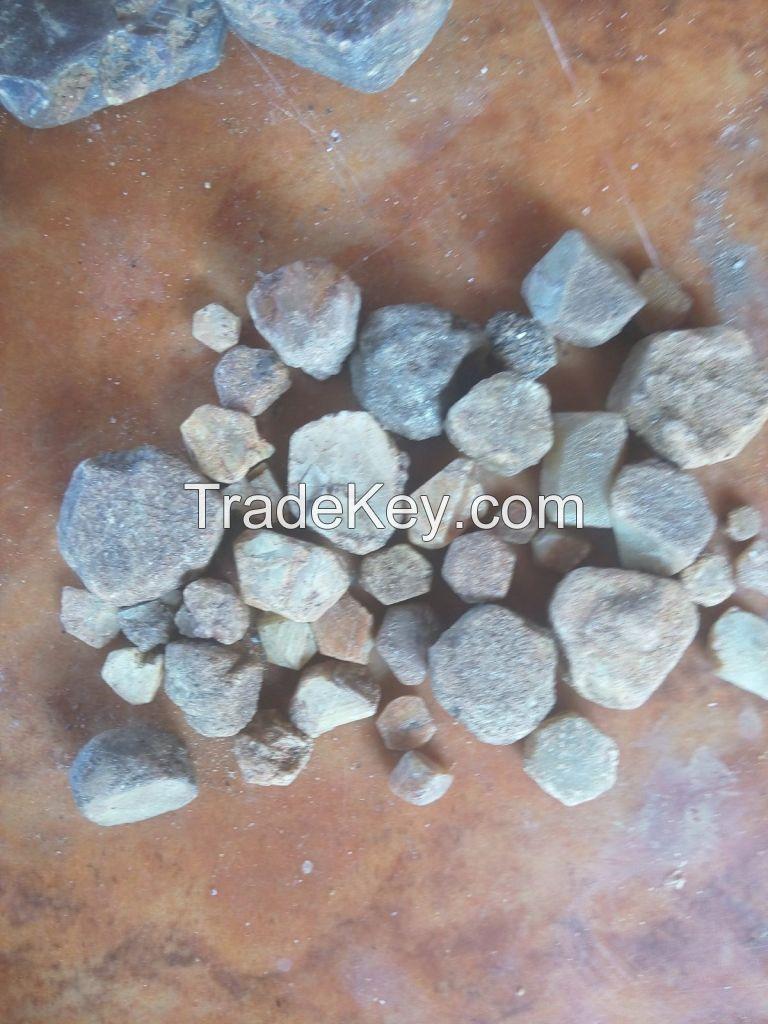 Sapphire nut, rose quartz,feldspar