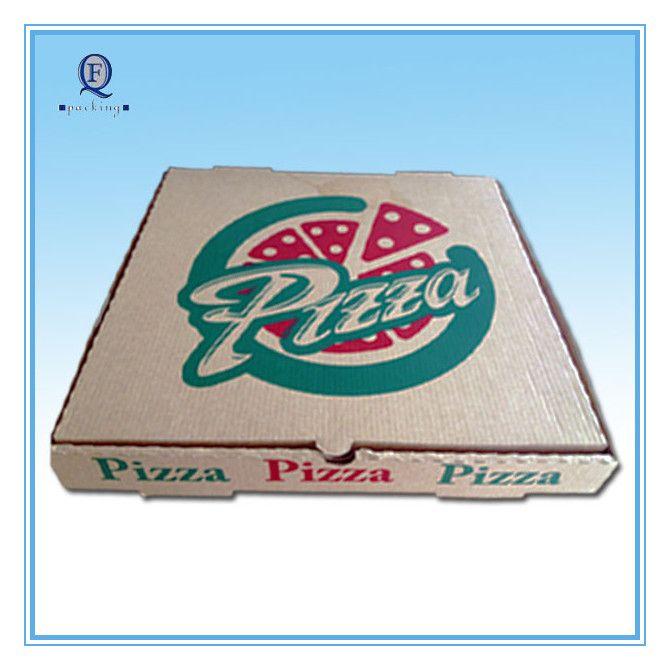 Custom eco-friendly color pizza box/excellent printed pizza box
