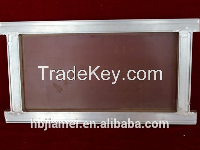 China manufacturing in printing silk screen aluminum printing frames