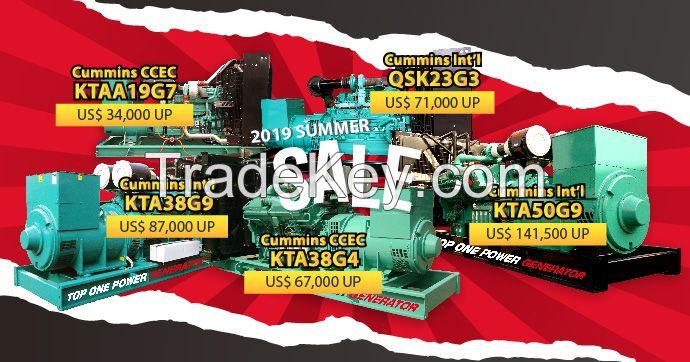 Cummins QSK23G3 Diesel Generator Set 727KW