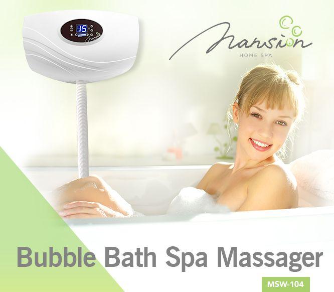 MSW-104  Bubble Bath Spa Massager