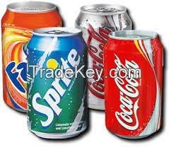 coca-cola,Fanta, Sprite