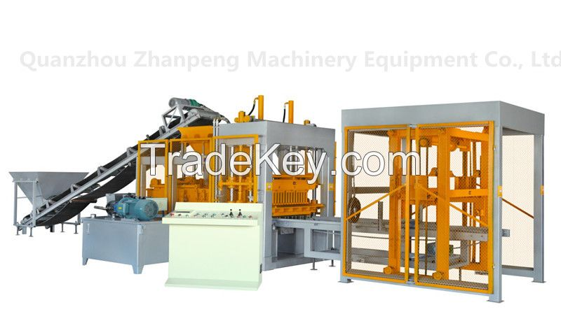 Fully automatic block making machine production line