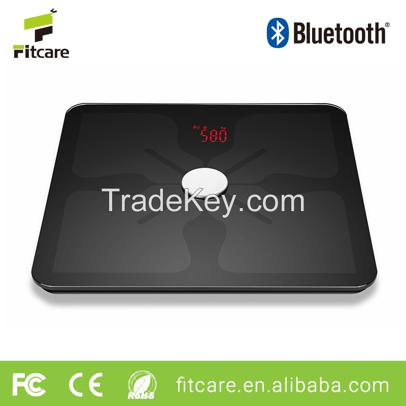 Body Fat Digital Analyzer Scale Machine Bluetooth Body Fat Scale Weighing Scale for Human Body Healthcare