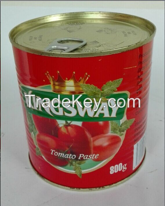 hot-sale tomato paste canned 800g