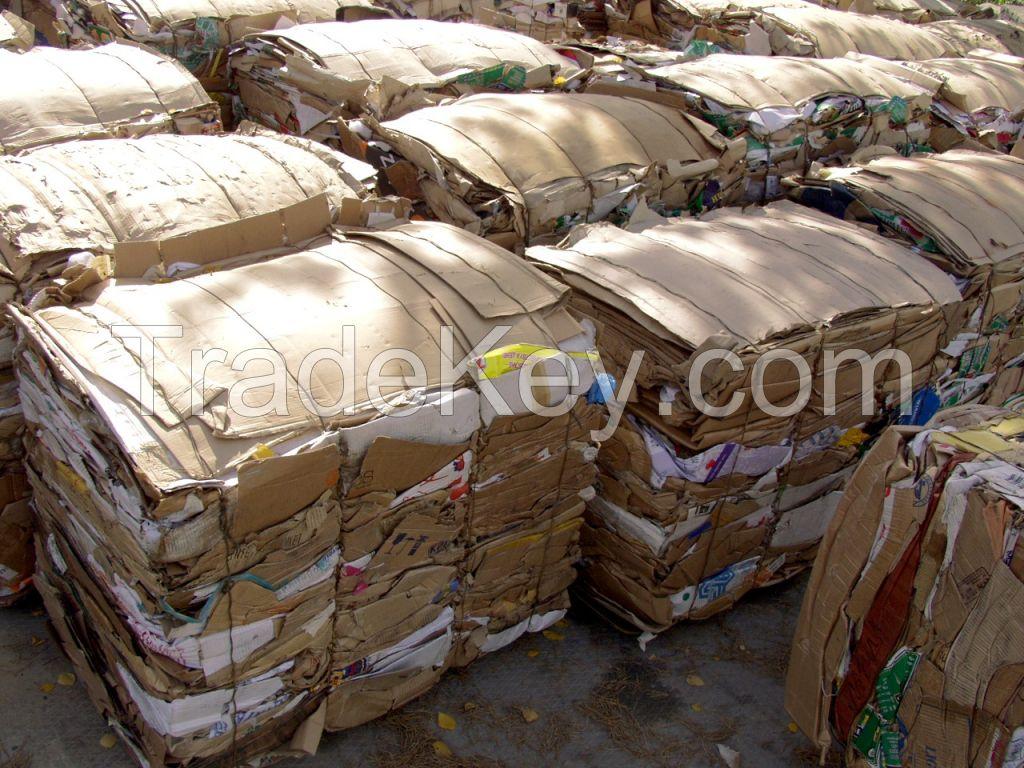 Recycling Cardboard scrap