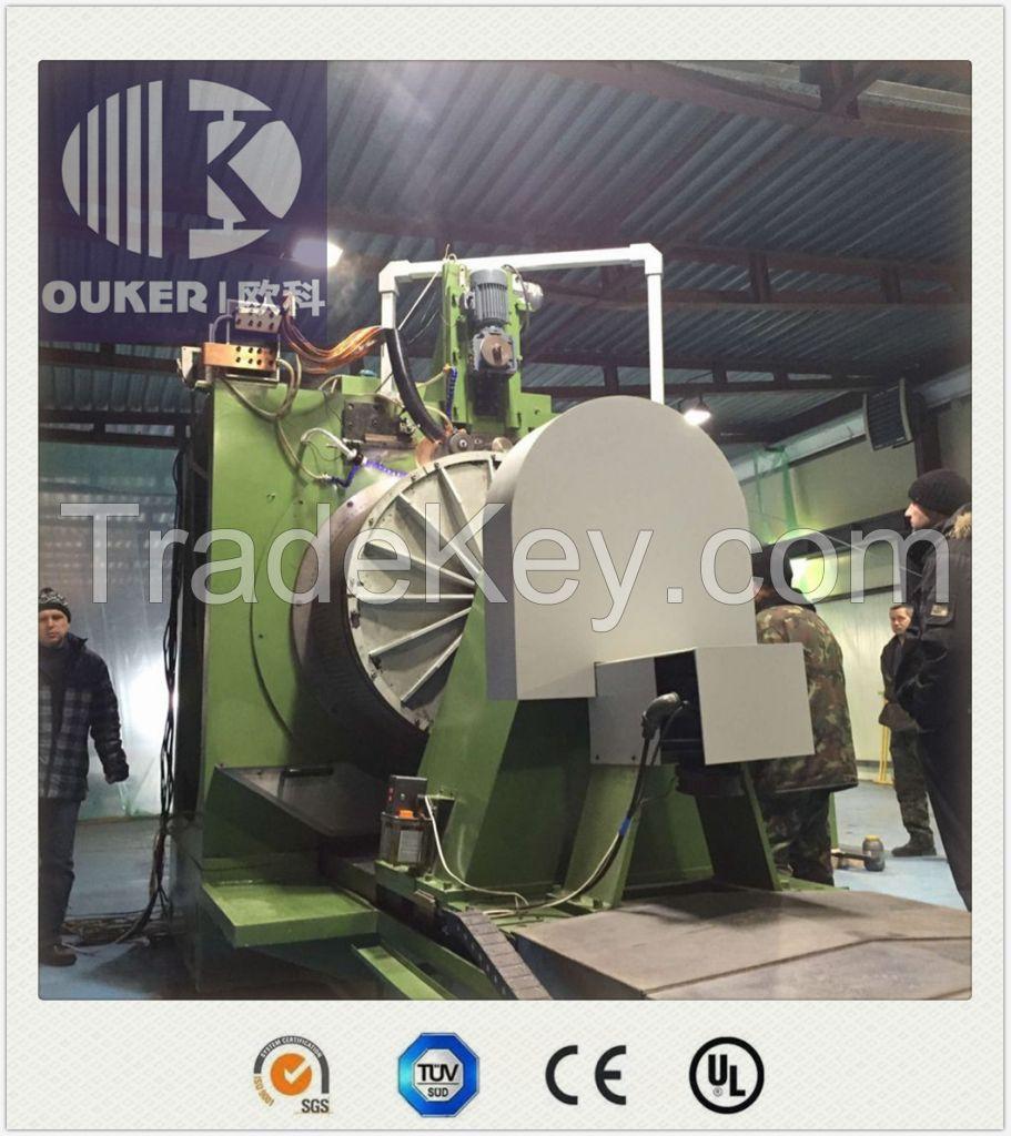 Big diameter range wedge wire screen welding machine
