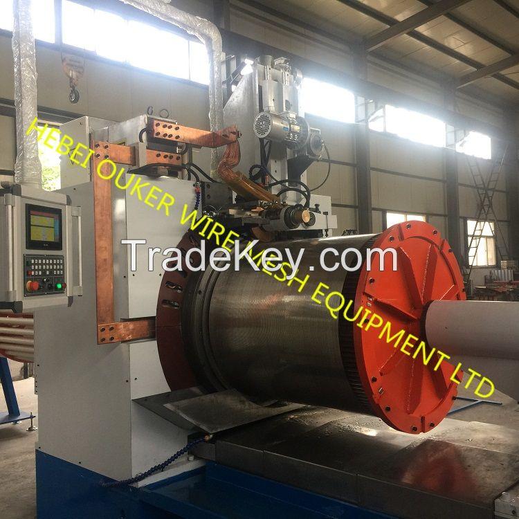 Automatic CNC  Wedge wire screen welding machine