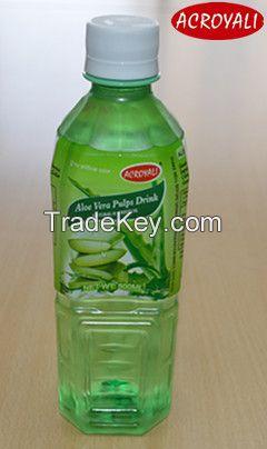 Aloe Vera Pulps Drink in pet bottle