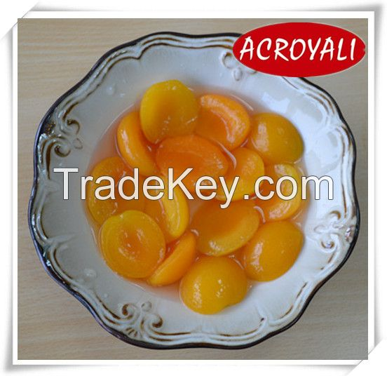 Canned apricot halves in light syrup